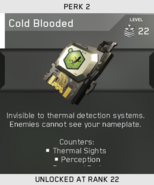 Cold Blooded Unlock Card IW