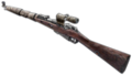 Scoped Mosin-Nagant 3rd person FH