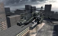 AH-64 Apache Scorched Earth MW3
