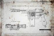 Mauser C96 schematics BOII