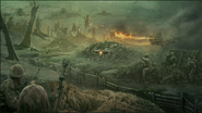 Pacific Trenches Concept Art WaW