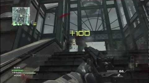 Call of Duty Modern Warfare 3 MP9 Suppressed