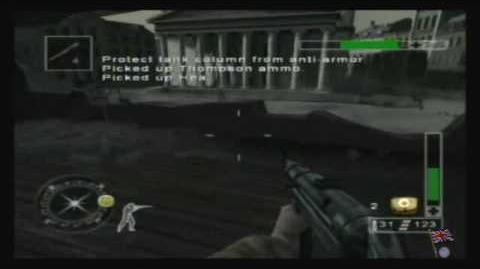 Call of Duty Finest Hour - Western Front, Mission 1 2 2