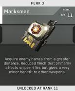 Marksman Unlock Card IW