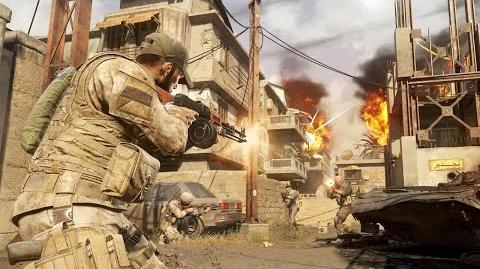 Call of Duty Modern Warfare Remastered Gameplay - 7 Minutes of Team Deathmatch on Backlot