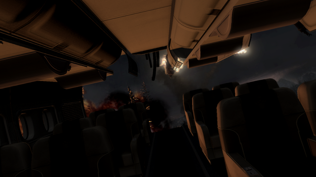 File:Plane destroyed with missing rear Turbulence MW3.png