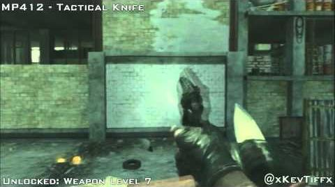 MW3 MP412 All Attachments Weapon Showcase Guide - Modern Warfare 3