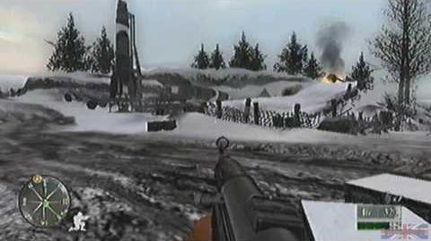 Call of Duty 2 Big Red One - Germany, Mission 13 Part 2