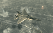 F-15 Eagle in Hamburg Goalpost MW3