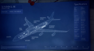 Il-96-300PU blueprint