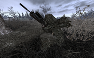 Ghillie sniper with WA2000 MW2
