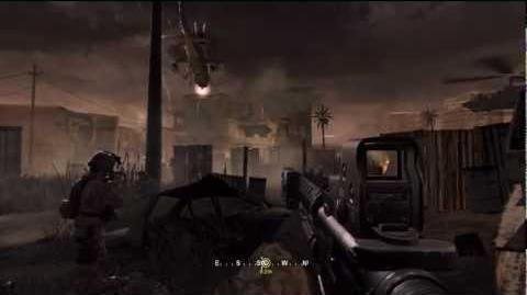 Call of Duty 4 Modern Warfare - Campaign - The Bog