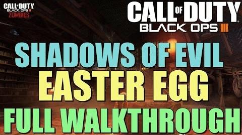 "Black Ops 3 Zombies FULL Shadows of Evil Easter Egg Guide ""Apocalypse Averted"""