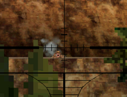 A russian Counter Sniper MW3DS through The Mountains