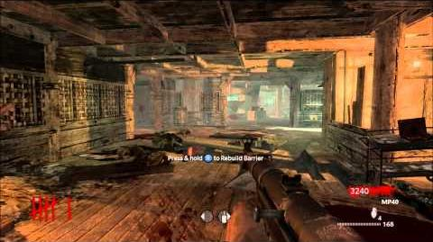 Call of Duty World at War - Nazi Zombies - Shi No Numa Solo Strategy (round 43) Part 1 5