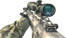 Barrett .50cal Digital CoD4