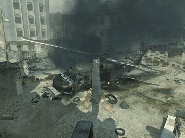 File:Blackhawk Crashed Bakaara MW3.jpg