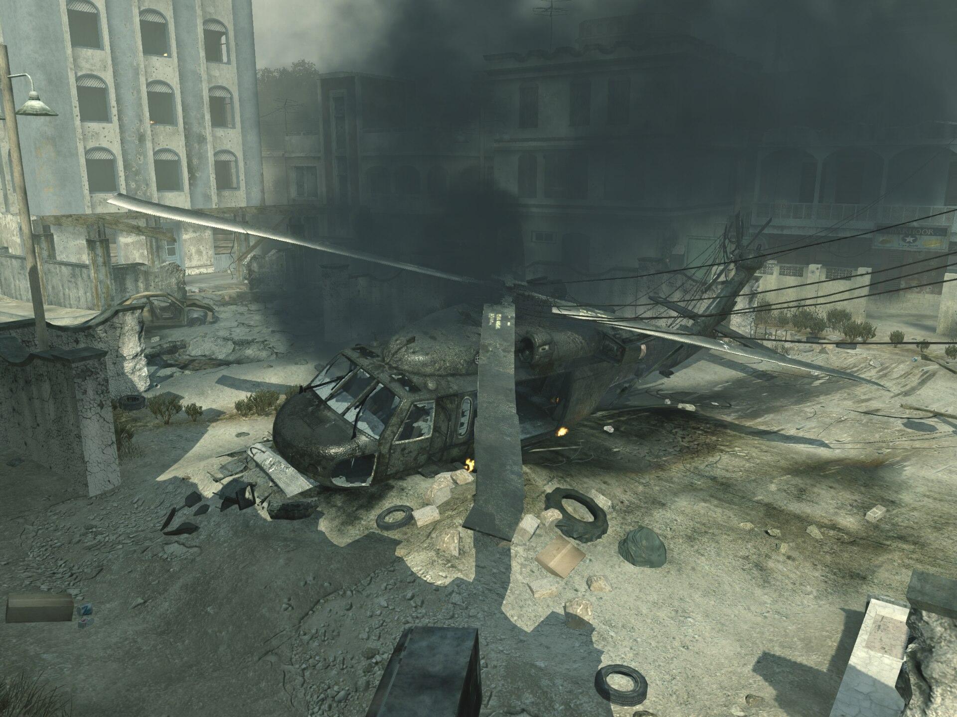Image - Blackhawk Crashed Bakaara MW3.jpg   Call of Duty ...