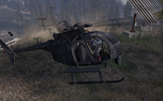 MH-6 Little Bird Loose Ends MW2