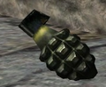 Mk 2 Grenade 3rd person CoD1.png