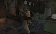 NVA soldier being killed The Defector BO