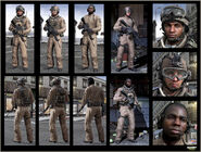 USMC character models MW3
