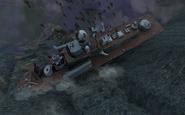 Sunk Nanuchka-class corvette Hunter Killer MW3