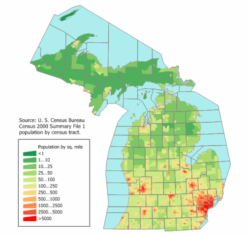 File:Michigan population map.png