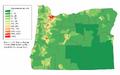 Oregon population map.png