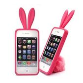 Korea-Silicone-Case-bunny-cell-phone-case-for-phone-free-shipping