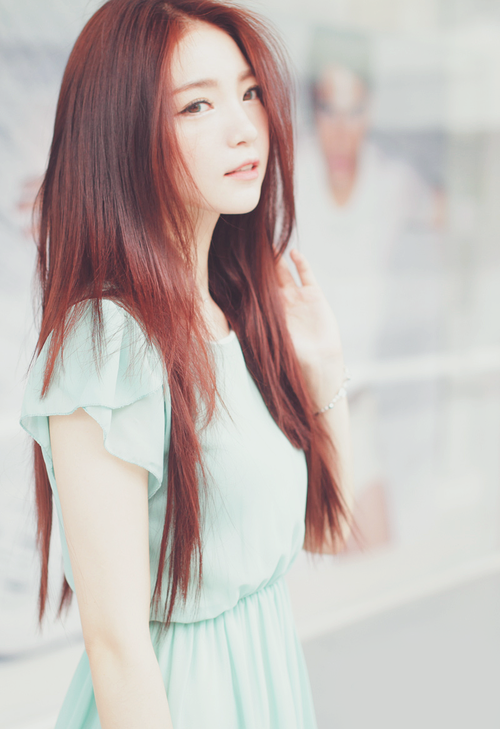 Ulzzang Red Hair Claiming:Camp/K...