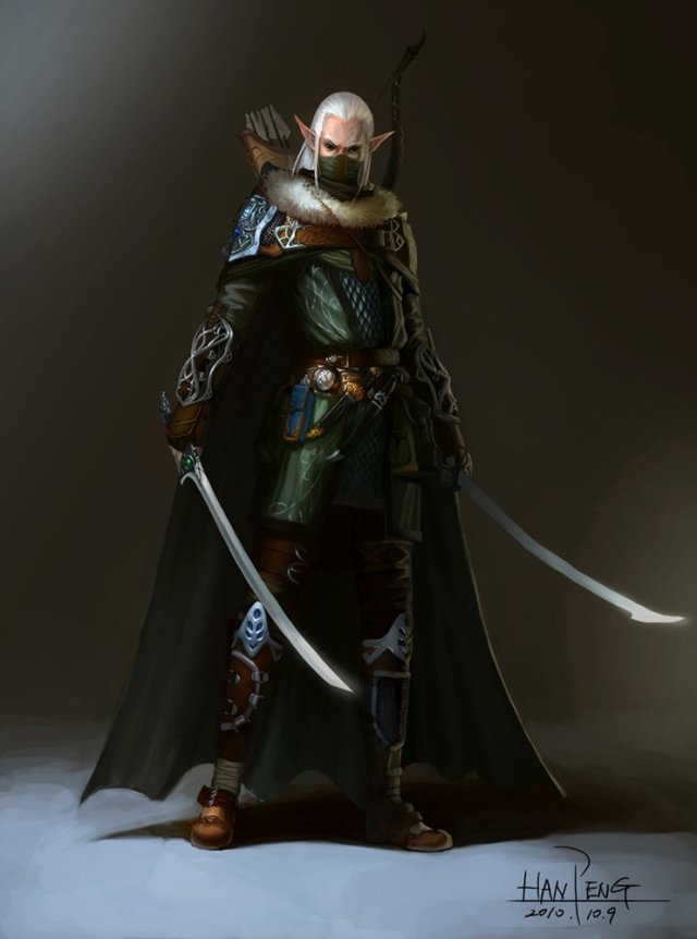 Elven Warrior Art