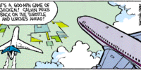 Calvin the Airline Pilot