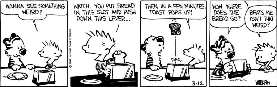 Toaster The Calvin And Hobbes Wiki Fandom Powered By Wikia