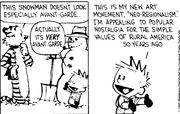 Snowman- Avant Garde Snowman