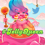 Tweet a message to her Royal Jellyness
