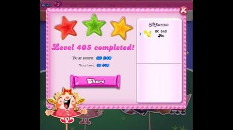 Candy Crush Saga Level 405 ★★★