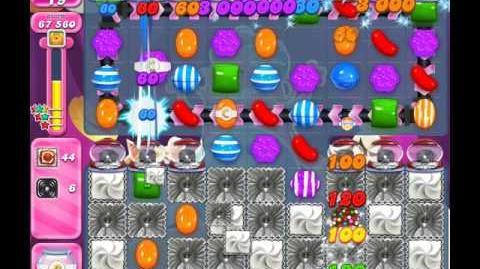 Candy Crush Saga Level 1998 ( New with 6 Licorice Swirls Order ) No Boosters 3 Stars