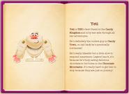 Mr. Yeti's particulars