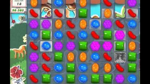 Candy Crush Saga Level 188 - 2 Star