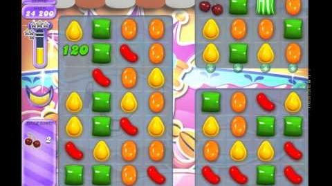 Candy Crush Saga Dreamworld Level 614 (No booster, 3 Stars)