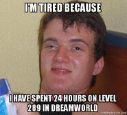 Im-tired-because