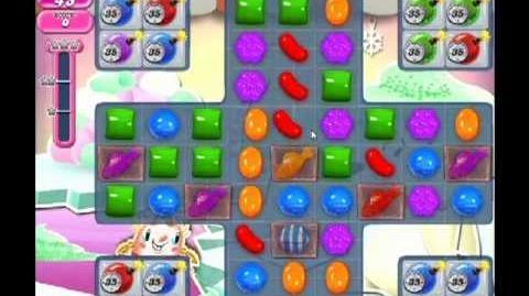 Candy Crush Saga Level 258 - 2 Star