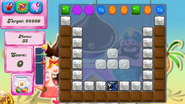Level 122 mobile new colour scheme with sugar drops (before candies settle)