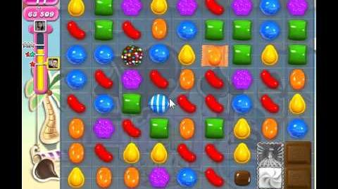 Candy Crush Saga Level 122 - 3 Star - no boosters