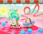 Raspberry Races background
