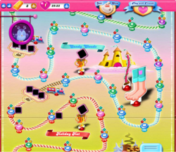 Candy Clouds Map