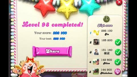 Candy Crush 98 ★★★