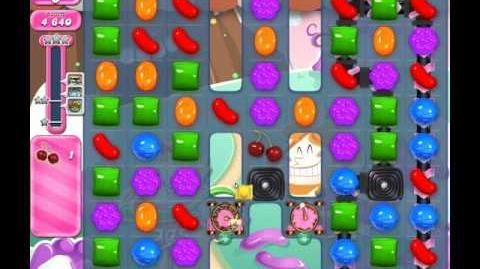 Candy Crush Saga Level 2043 ( New with Fewer Icings Layers ) No Boosters 1 Star