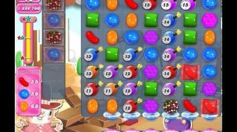 Candy Crush Saga Level 455 3 stars NO BOOSTER